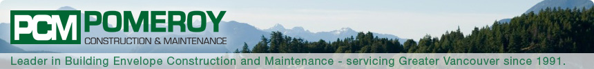 Leader in Building Envelope Construction and Maintenance - servicing Greater Vancouver since 1991.